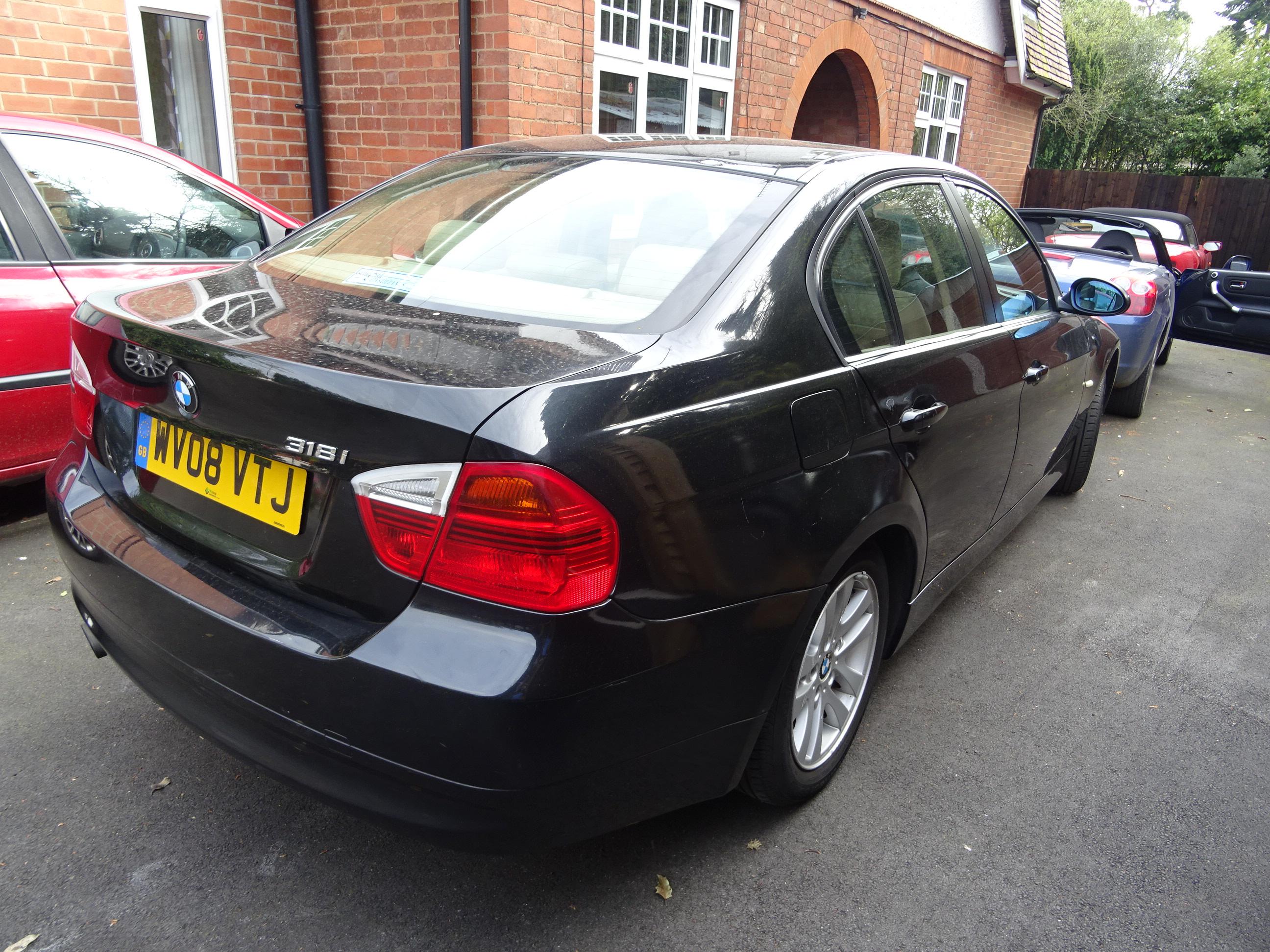 BMW 318i ES 4 door manual 2008 08, 68000 miles