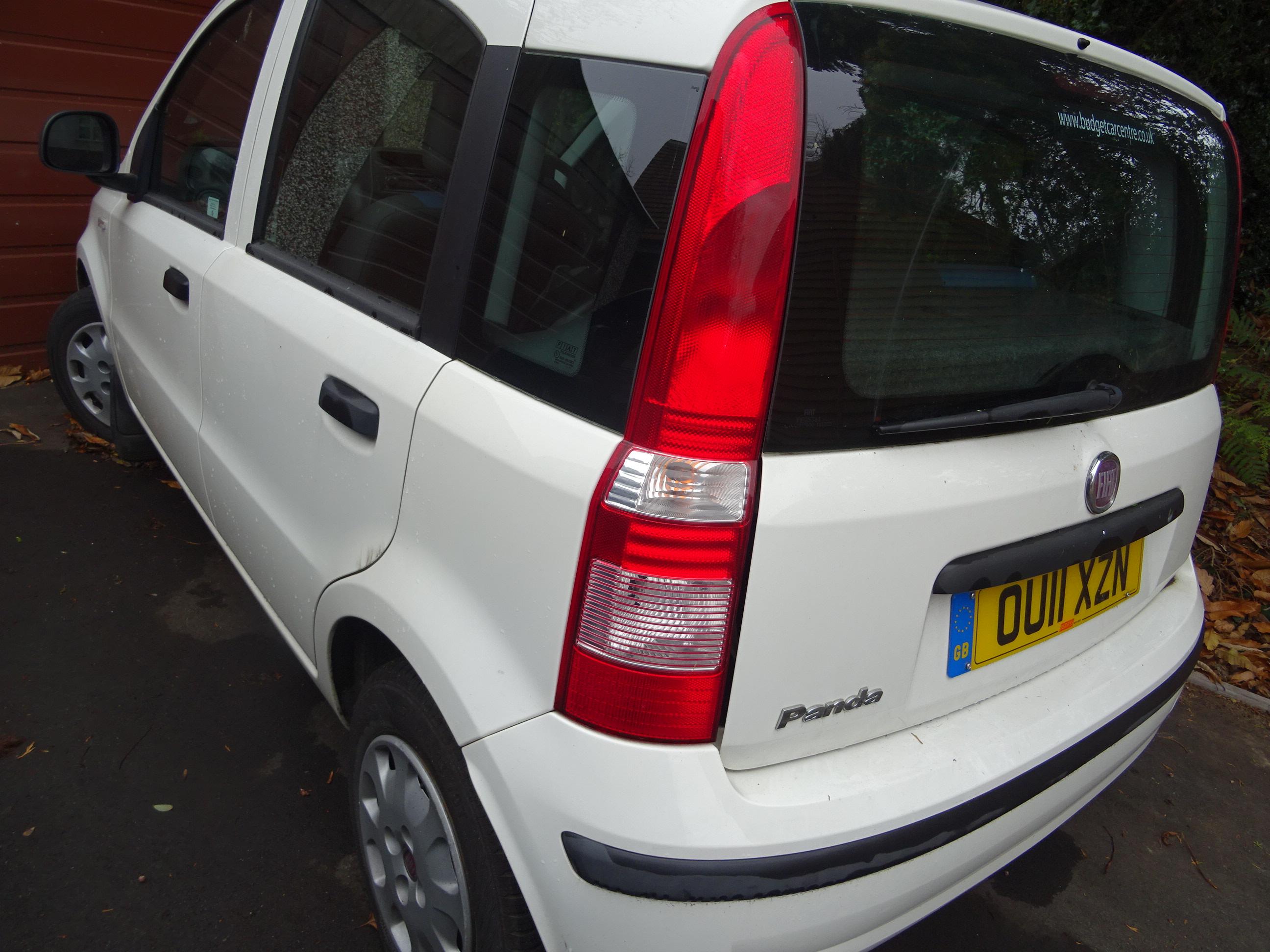 Fiat Panda 1.2 Active 5 door 2011 11, 44000 miles