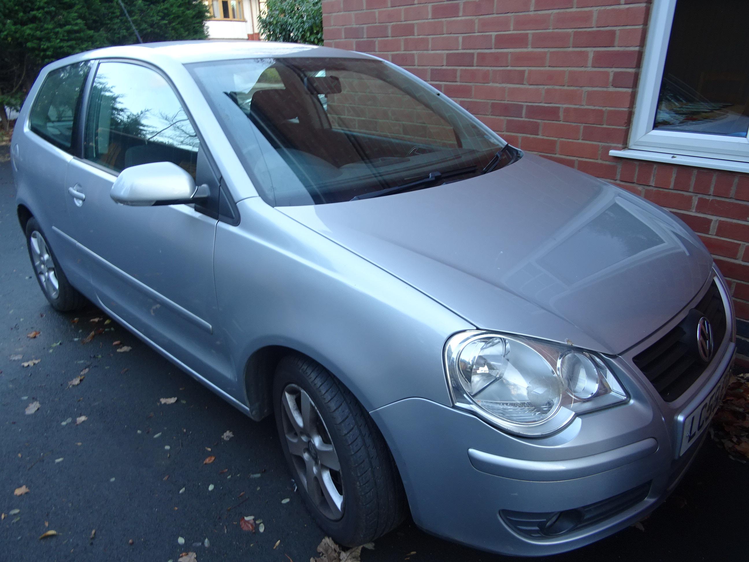 VW Polo 1.4 Match 3 dr 2009 59, 66000 miles